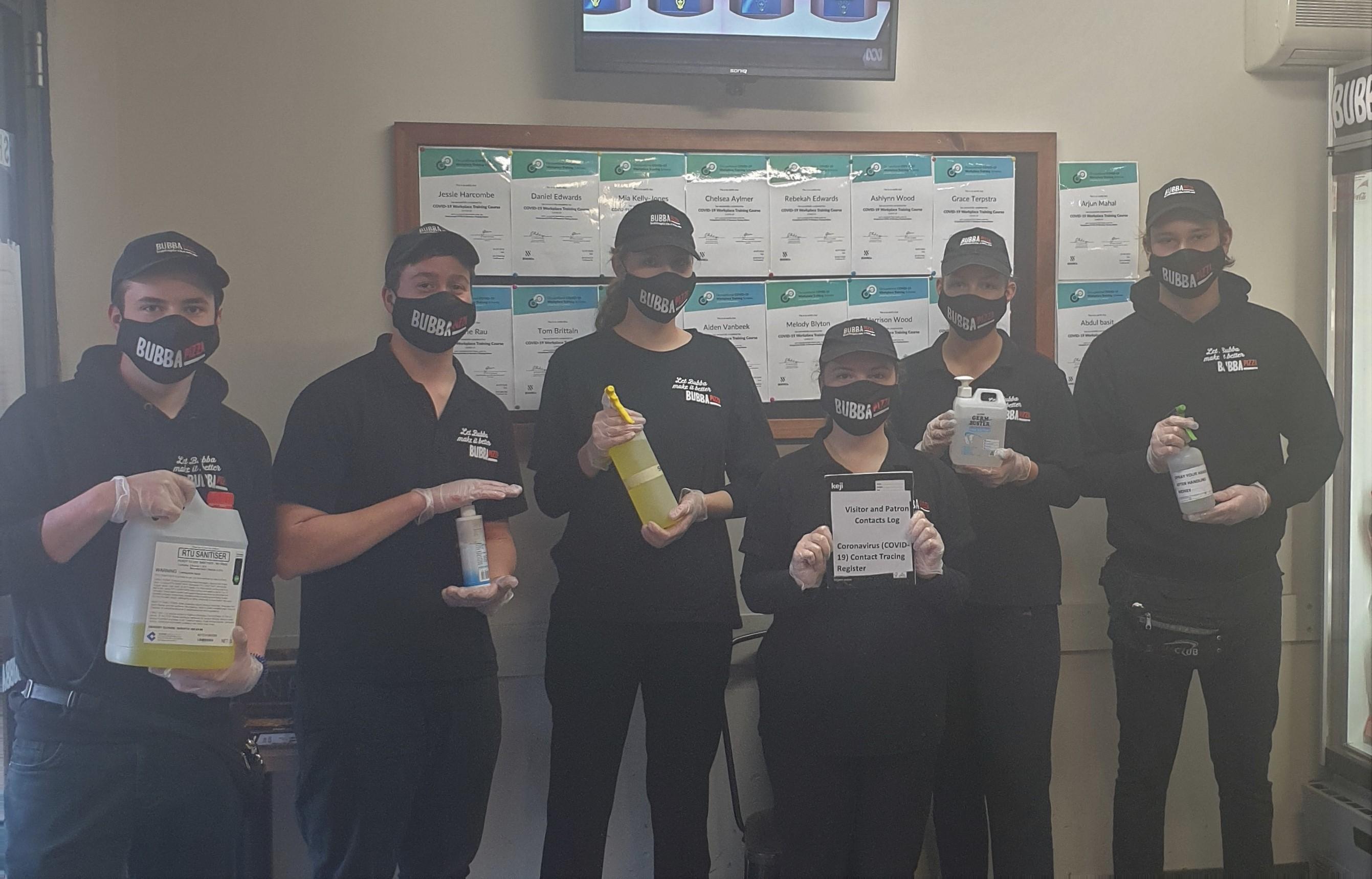 masks staff 2